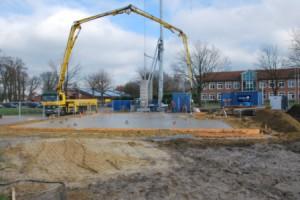 Beton für Bodenplatte